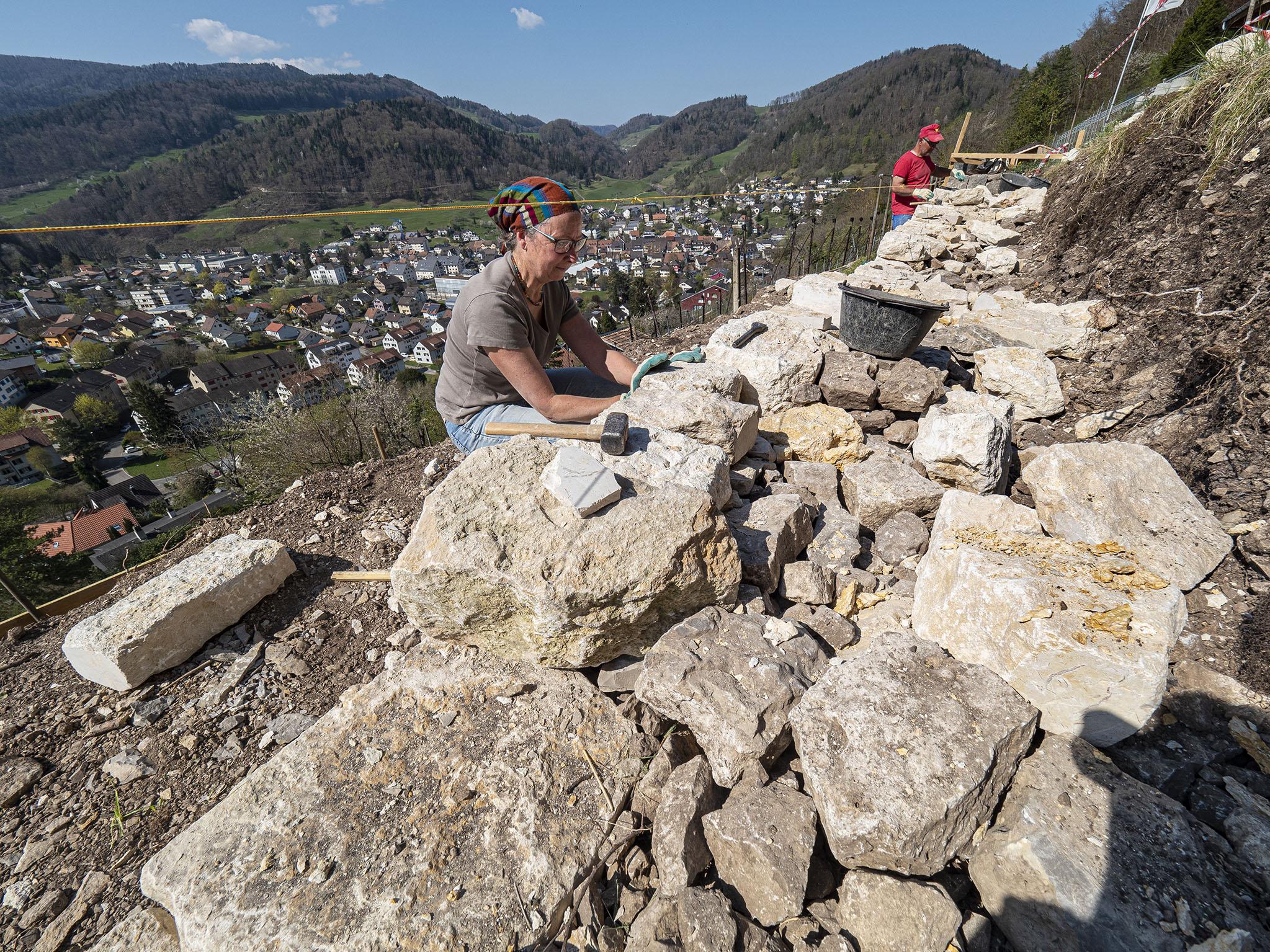 Trockenstein-Mauern im Dielenberg