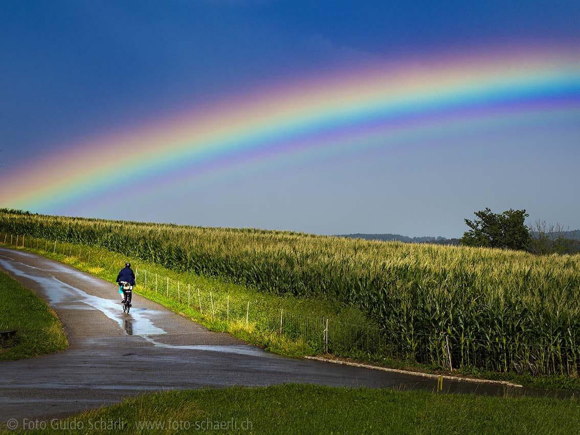 Regenbogen Himmlisch